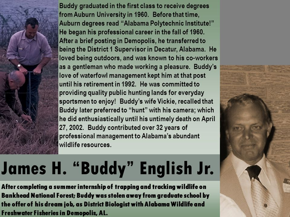 James H. Buddy English Jr.
