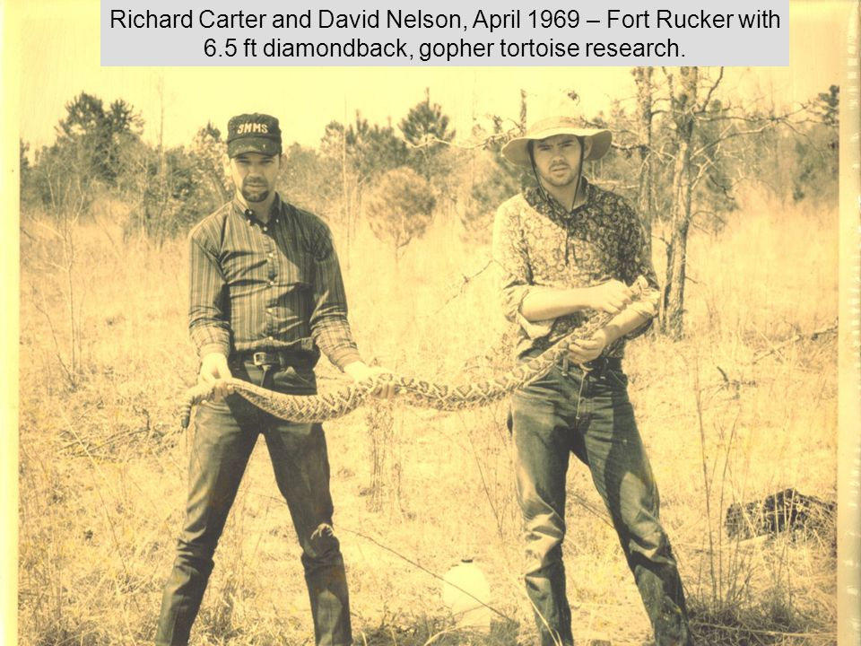 Richard Carter and David Nelson, April 1969 – Fort Rucker with 6