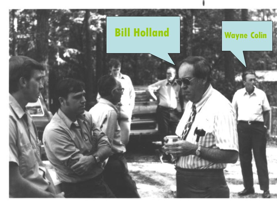 Bill Holland Wayne Colin