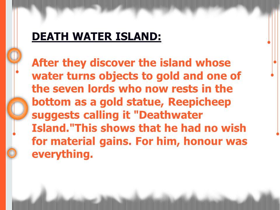 DEATH WATER ISLAND: