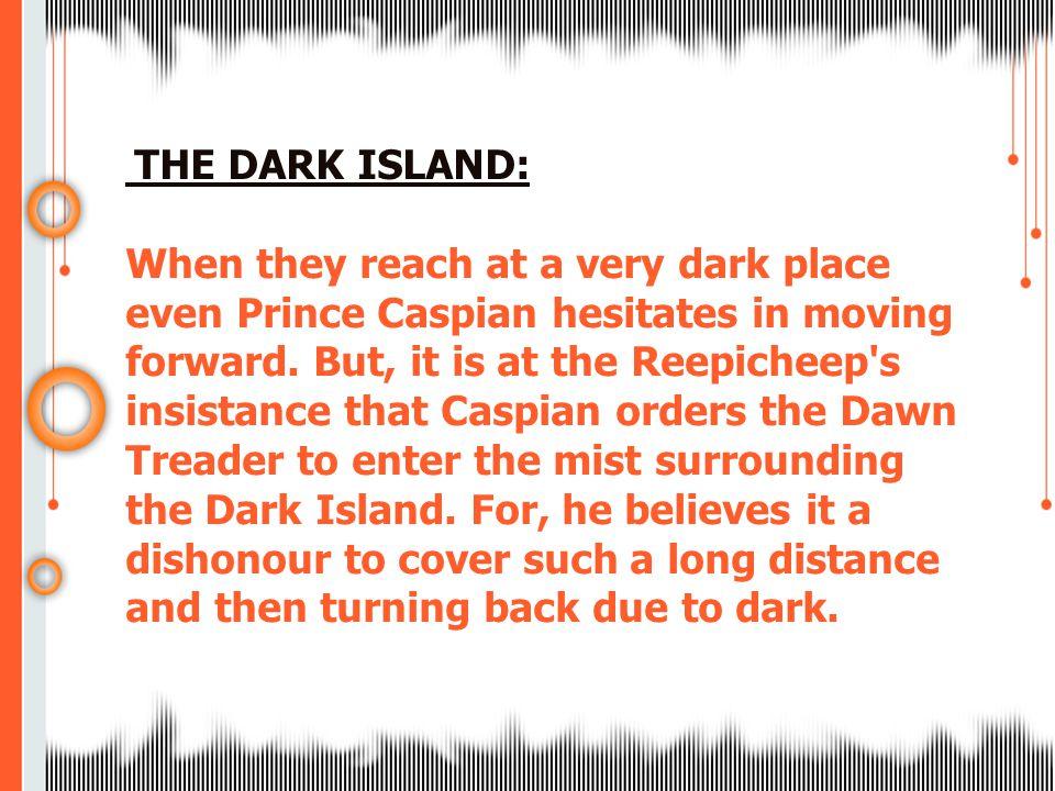 THE DARK ISLAND: