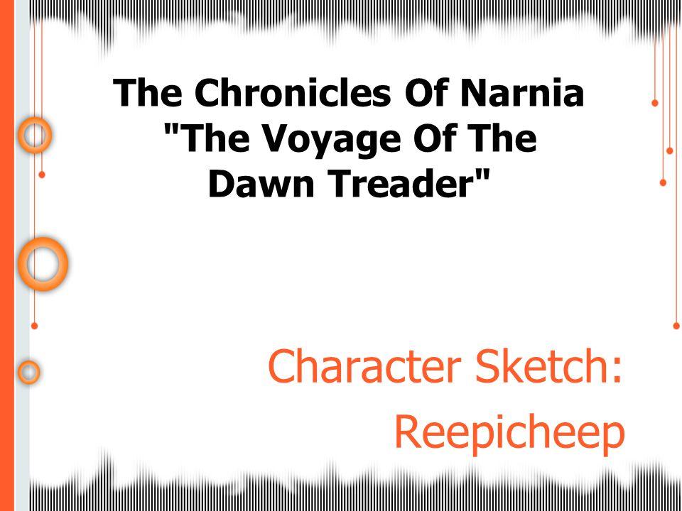 Character Sketch: Reepicheep