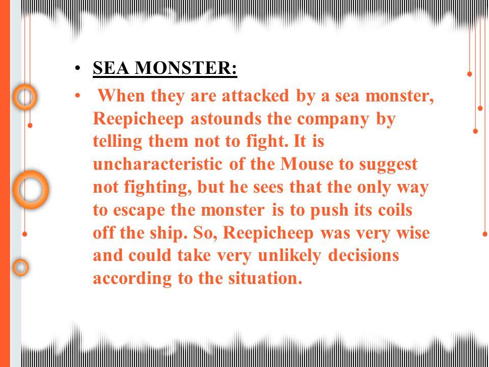SEA MONSTER: