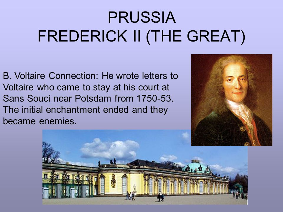 PRUSSIA FREDERICK II (THE GREAT)