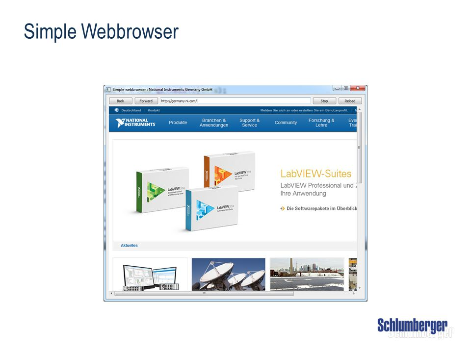 Simple Webbrowser