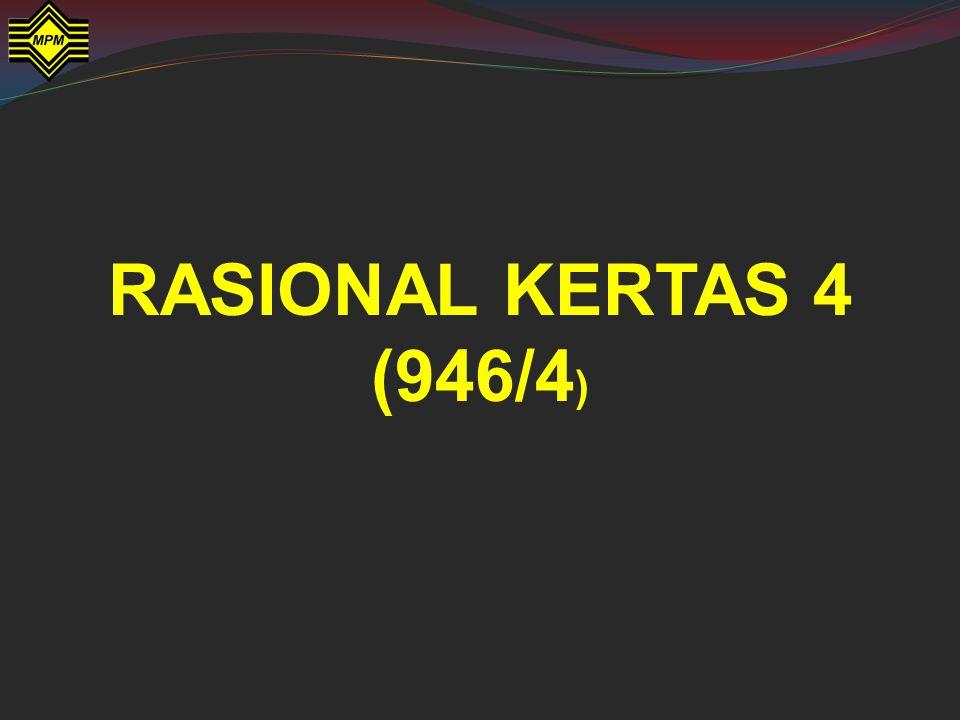 RASIONAL KERTAS 4 (946/4)