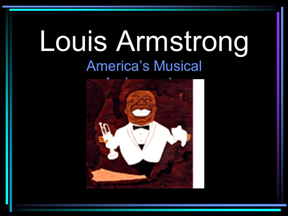 America's Musical Ambassador