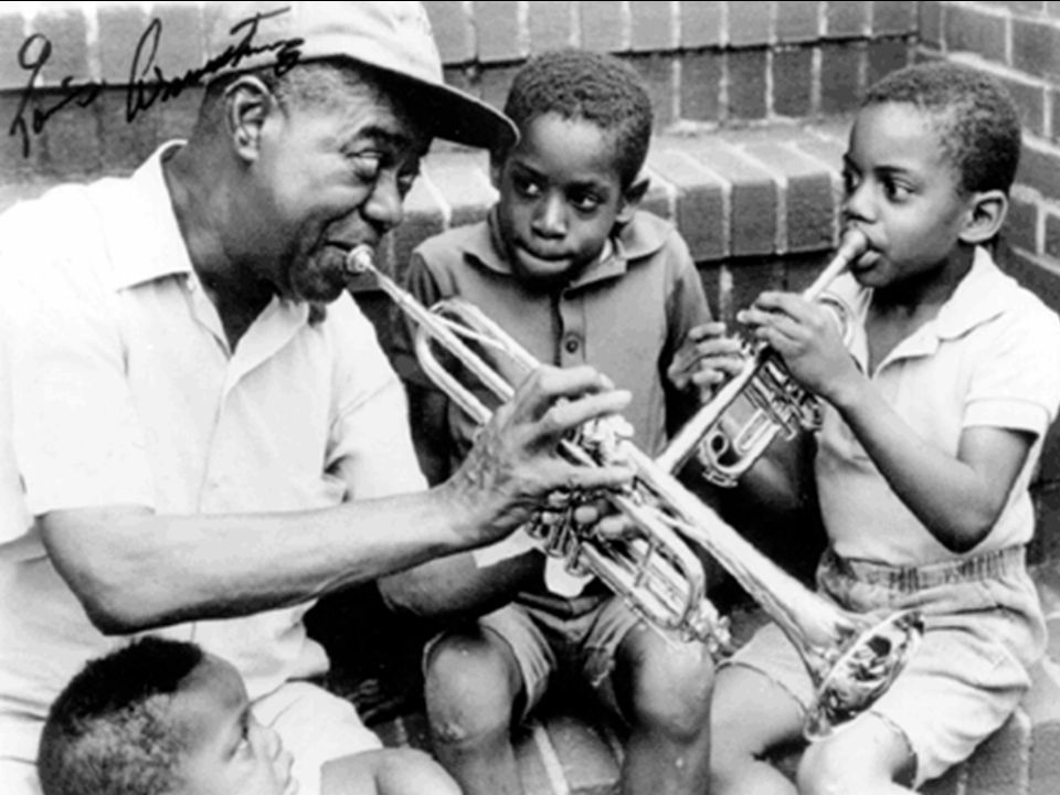 Louis Armstrong loved Children, and in the 1960's he recorded a series of Disney favorites called Disney Songs the Satchmo Way.
