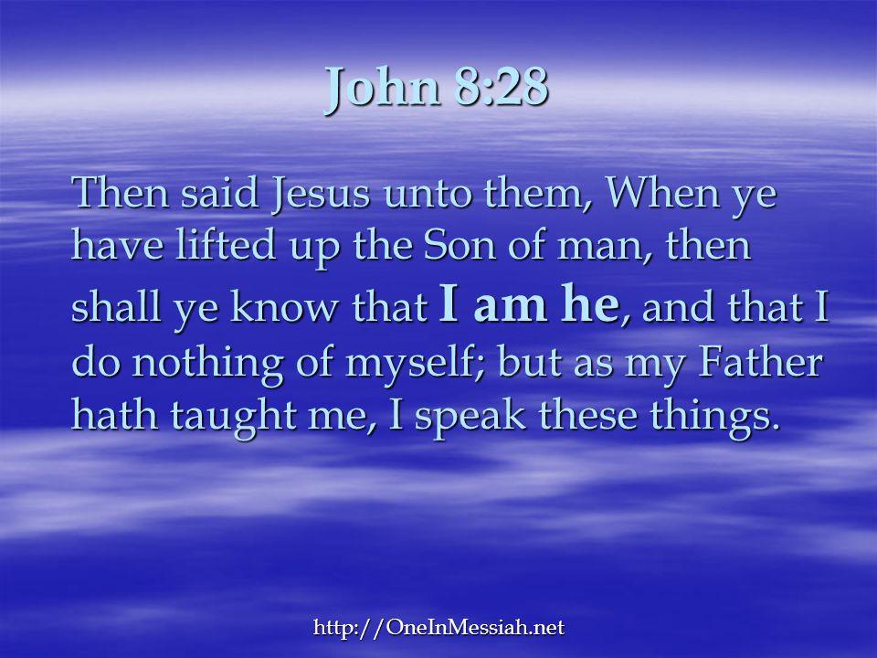 John 8:28