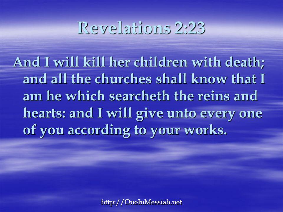 Revelations 2:23