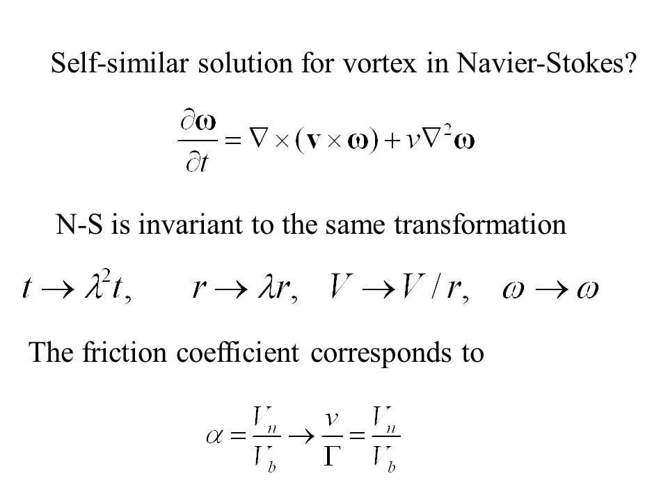 Self-similar solution for vortex in Navier-Stokes