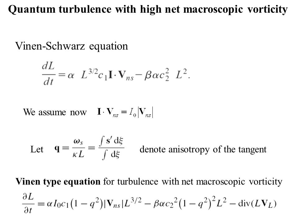 Quantum turbulence with high net macroscopic vorticity