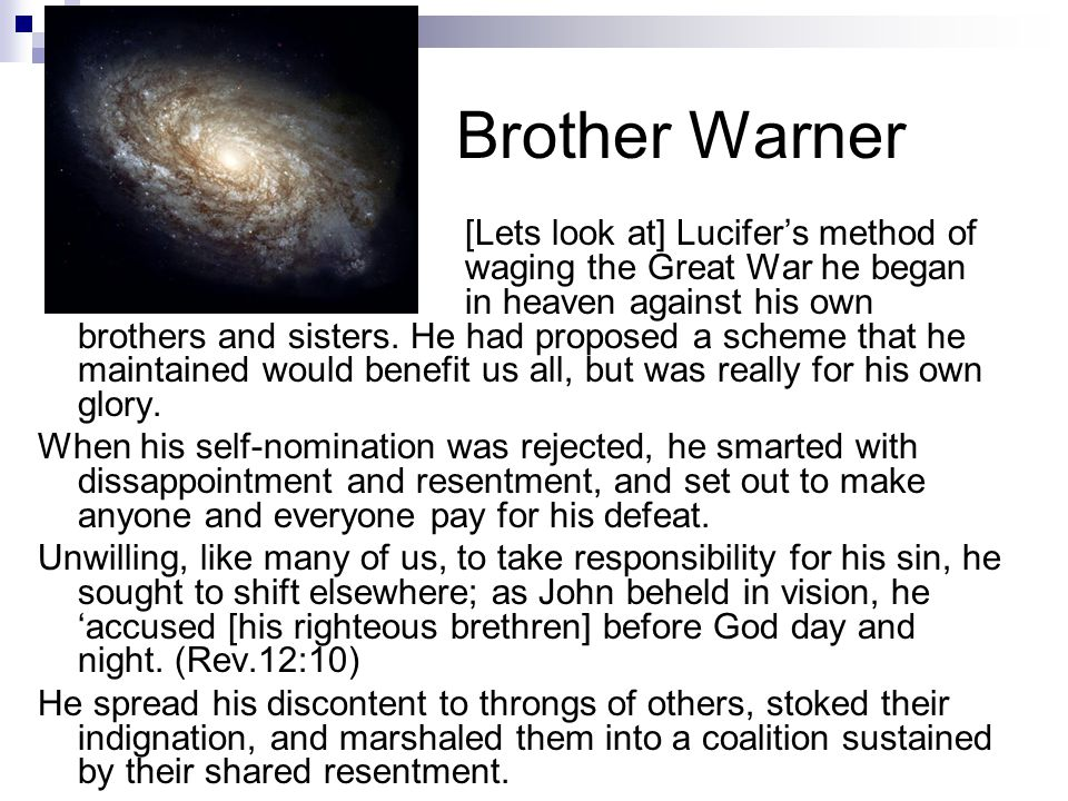 Brother Warner