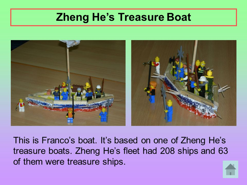 Zheng He's Treasure Boat