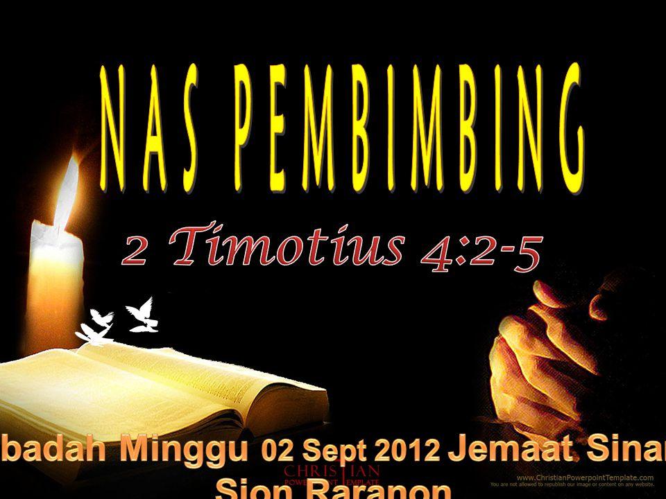 Ibadah Minggu 02 Sept 2012 Jemaat Sinar Sion Raranon