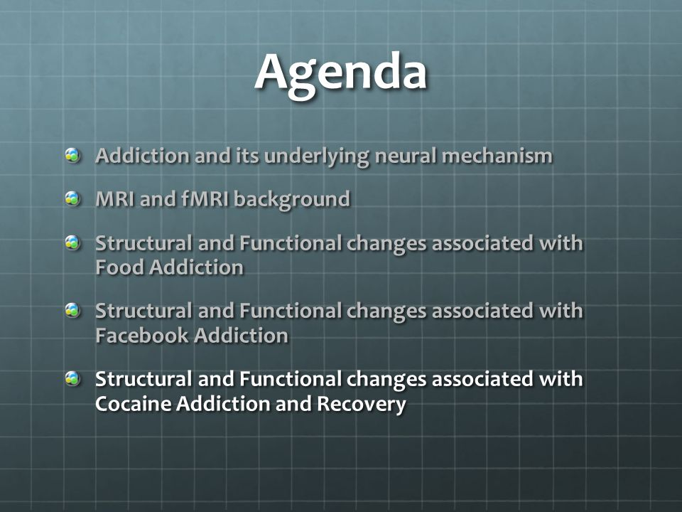 Agenda Addiction and its underlying neural mechanism