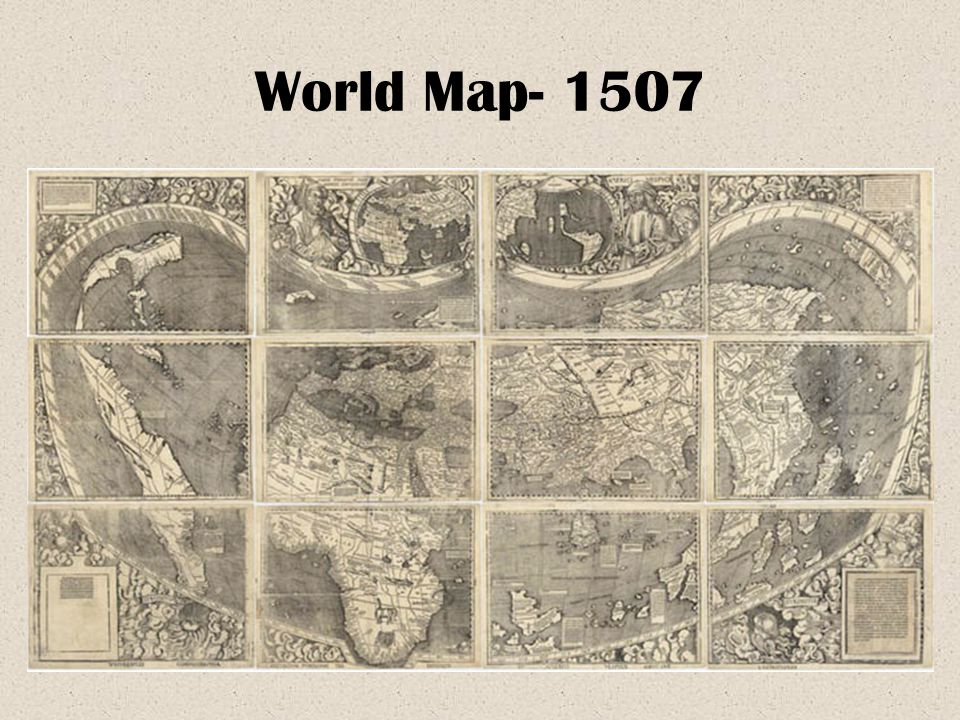 World Map- 1507