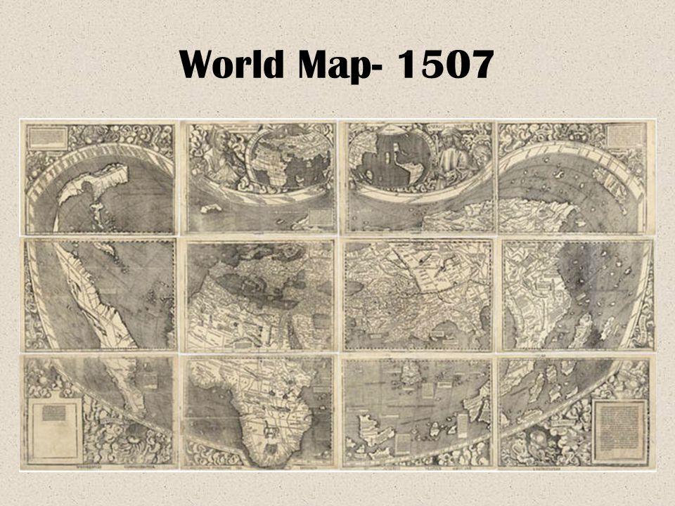 World Map- 1507