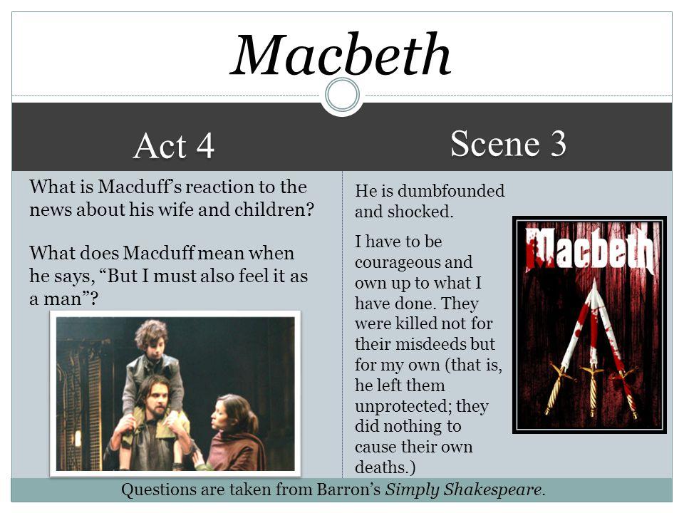 Macbeth Scene 3. Act 4.