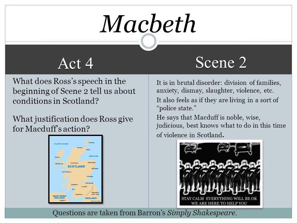 Macbeth Scene 2. Act 4.