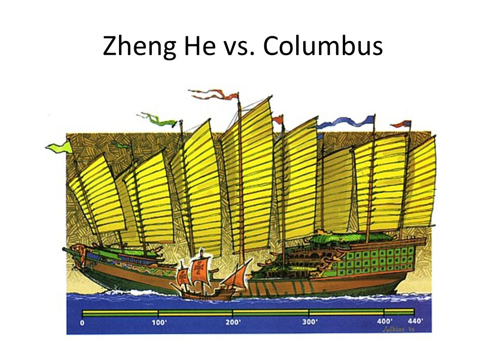 Zheng He vs. Columbus