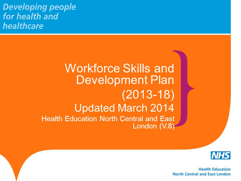Workforce Skills and Development Plan (2013-18)