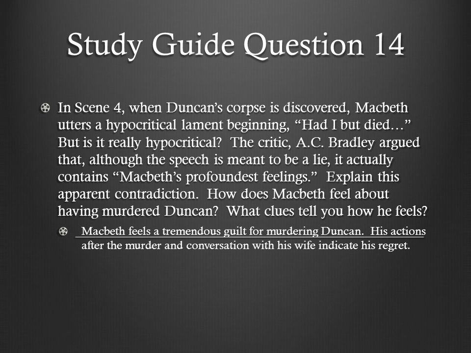 Study Guide Question 14