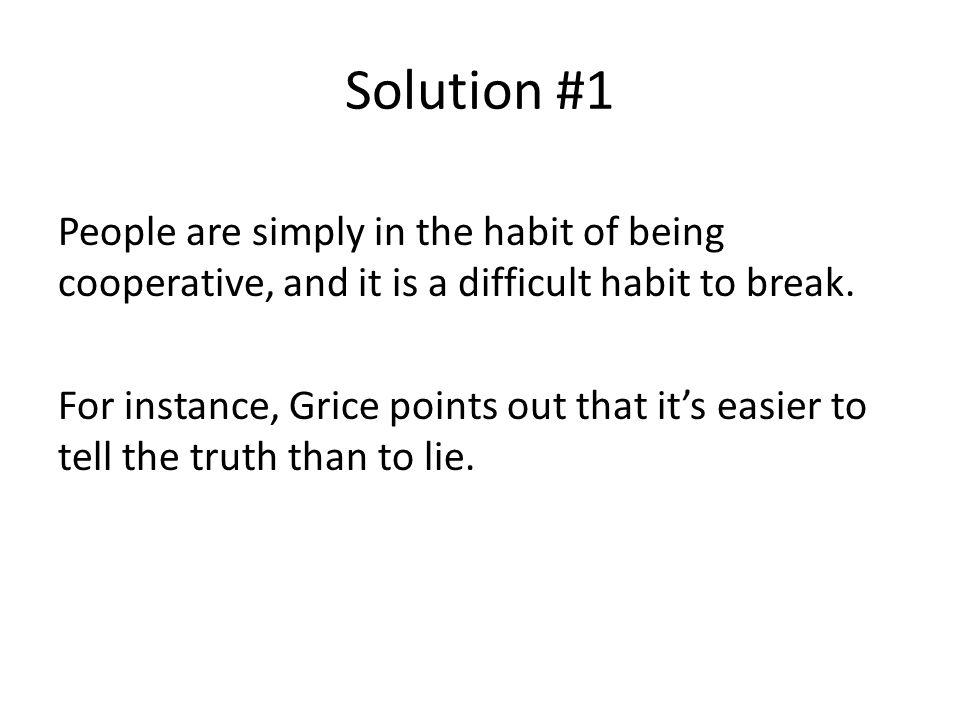 Solution #1