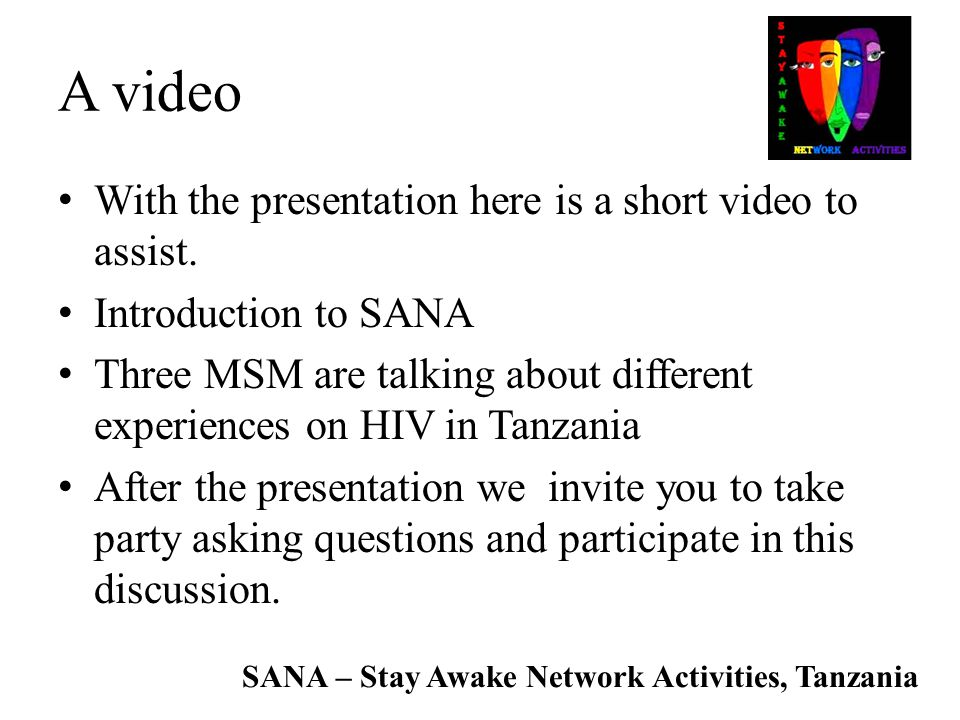 A video With the presentation here is a short video to assist.