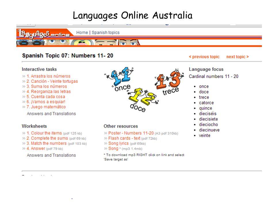 Languages Online Australia