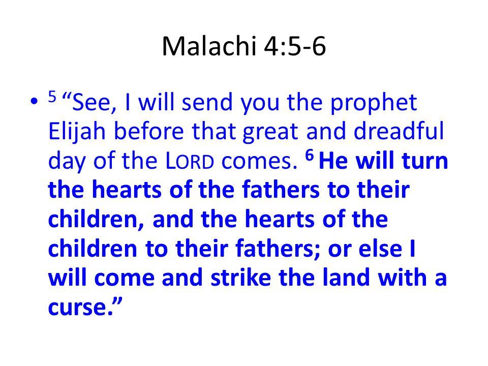 Malachi 4:5-6