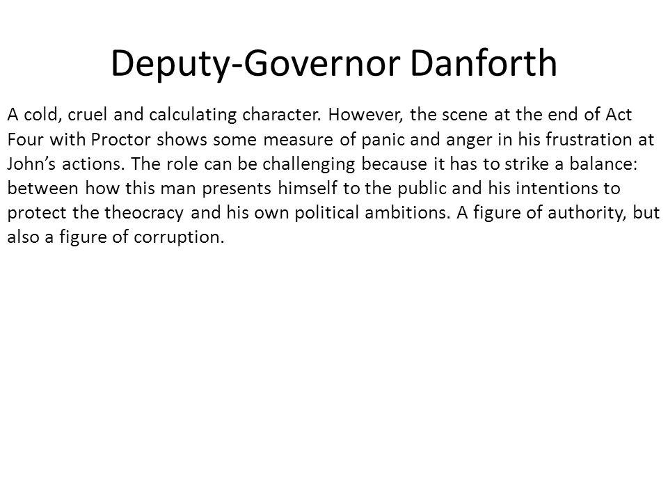 Deputy-Governor Danforth