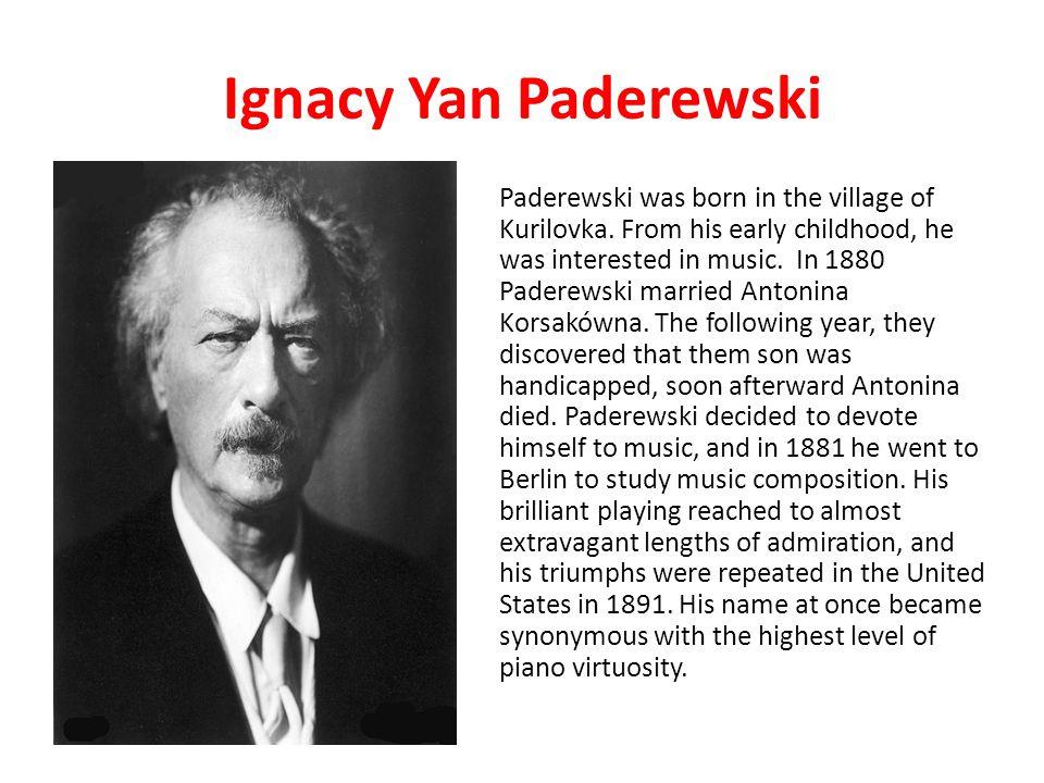 Ignacy Yan Paderewski