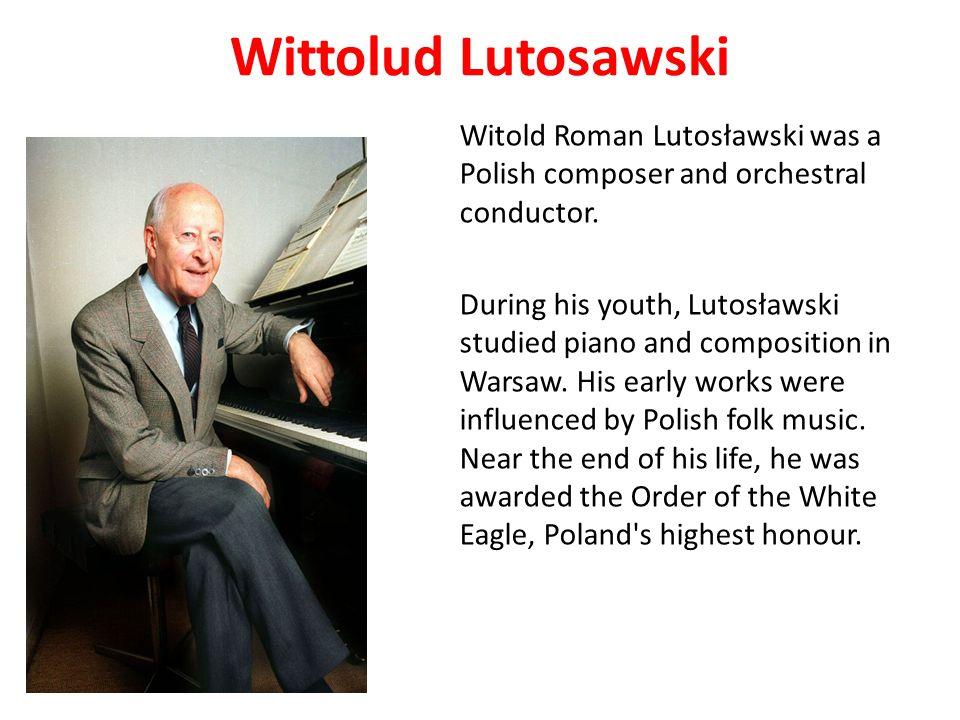 Wittolud Lutosawski