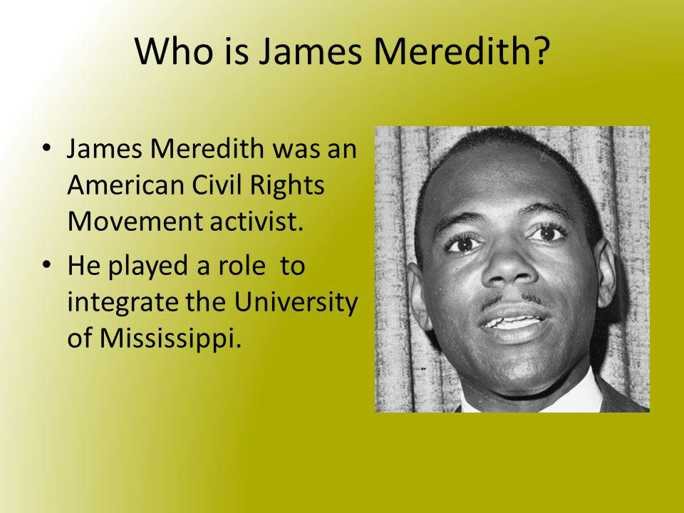Image result for james meredith