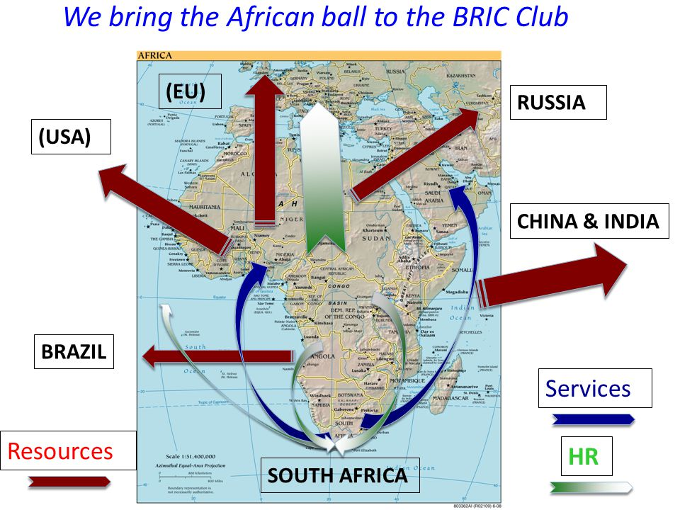 We bring the African ball to the BRIC Club