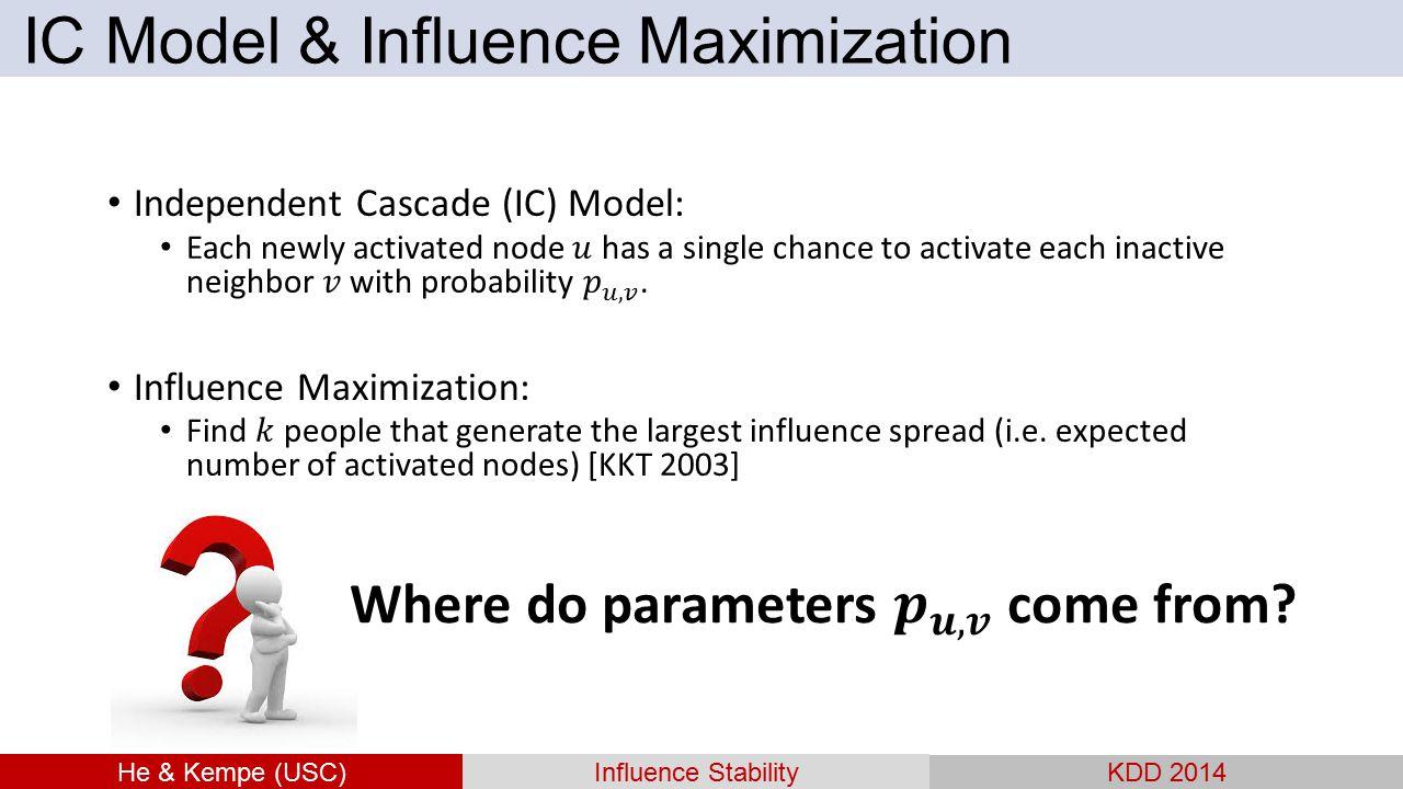 IC Model & Influence Maximization