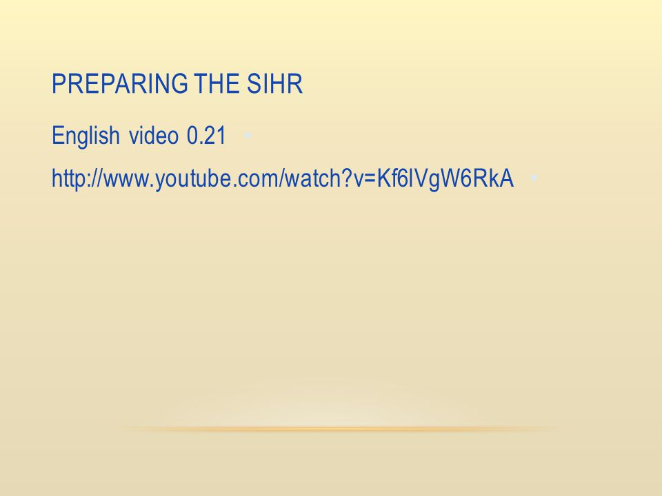 Preparing The Sihr English video 0.21