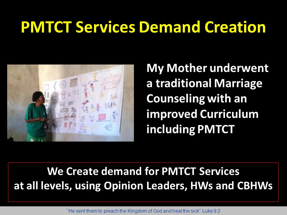 PMTCT Services Demand Creation