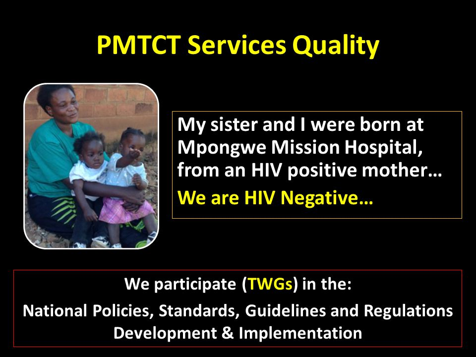 PMTCT Services Quality