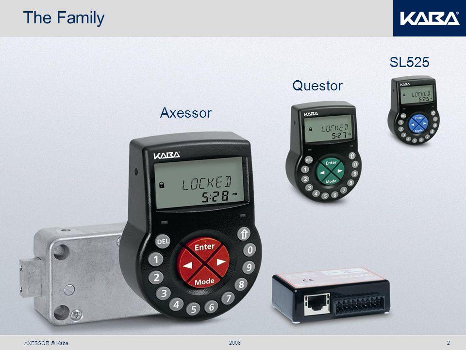 The Family SL525 Questor Axessor 2008