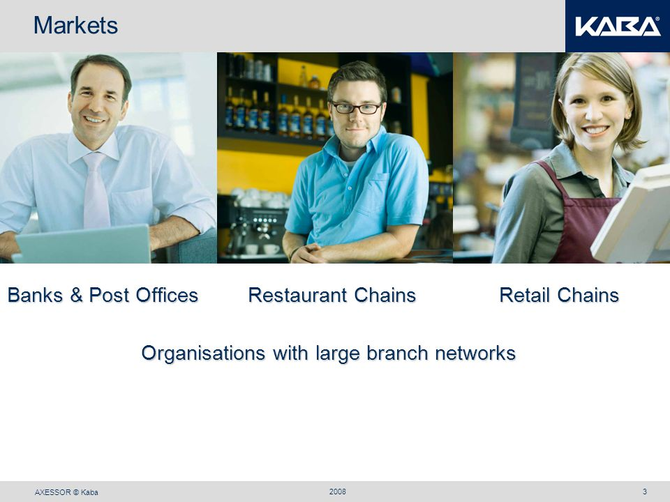 Markets Banks & Post Offices Restaurant Chains Retail Chains