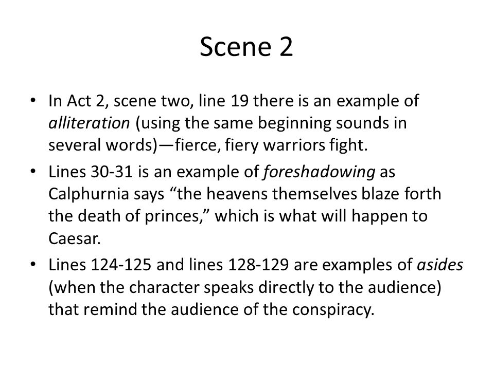 "julius caesar act ii 4 essay The following questions will help you to prepare for your eventual test over ""julius caesar"" possible essay question from act ii: in scene 1."