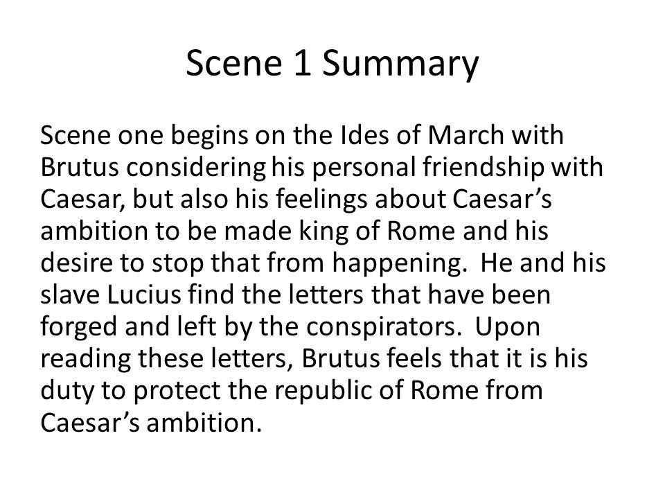 Scene 1 Summary
