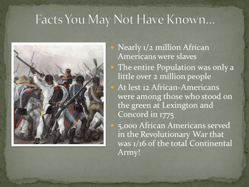 Facts You May Not Have Known…