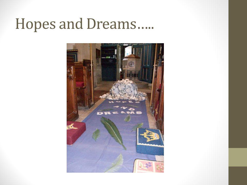 Hopes and Dreams…..