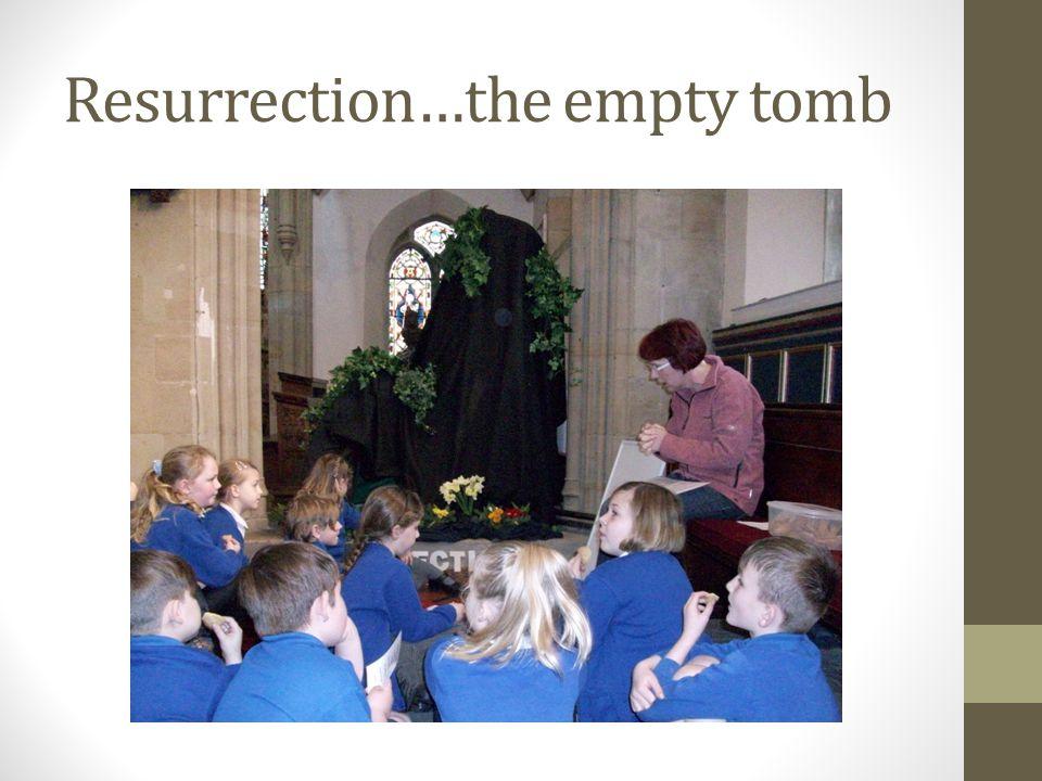 Resurrection…the empty tomb