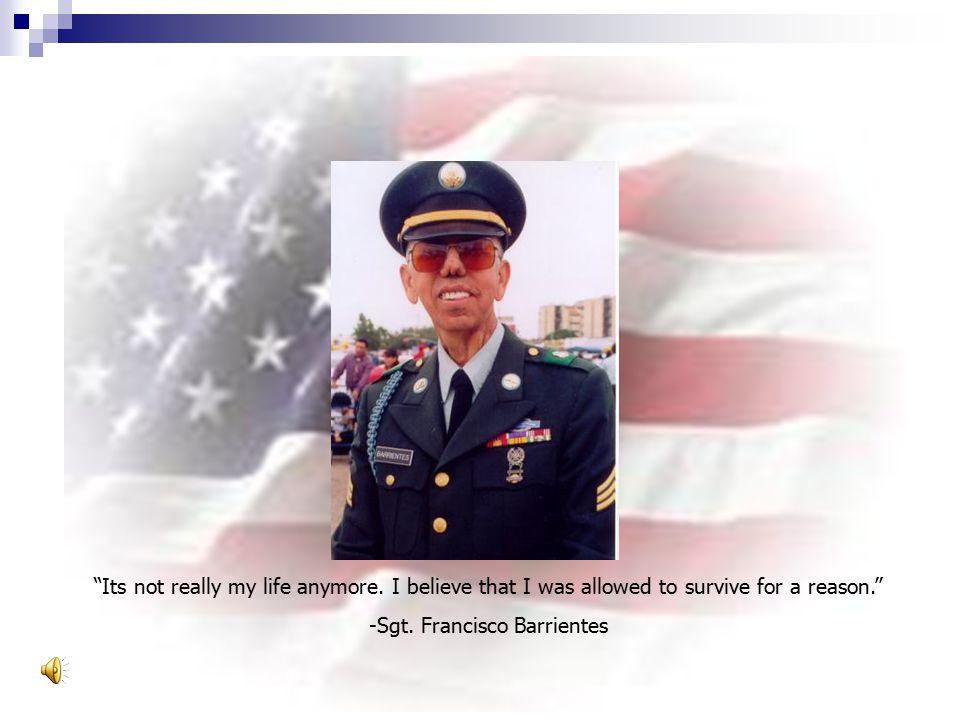 -Sgt. Francisco Barrientes