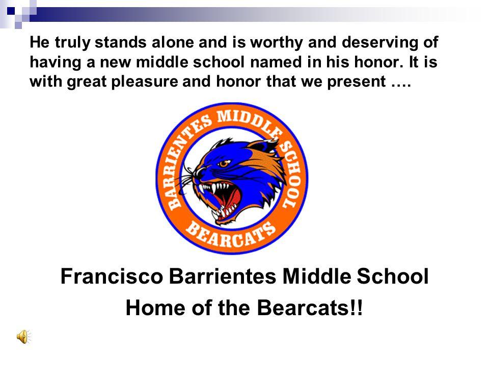 Francisco Barrientes Middle School