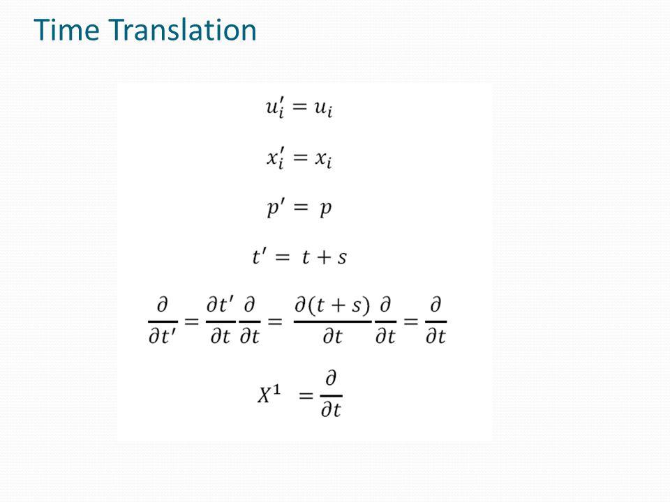 Time Translation